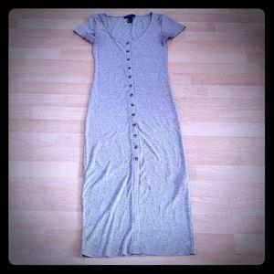 Forever 21 Button Down Shirt Dress